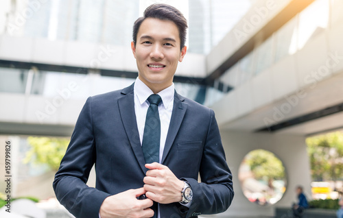 Young Businessman Poster