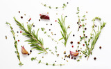 Herbs and spices - background for cooking - 159803009
