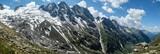 Panorama im Hochgebirge