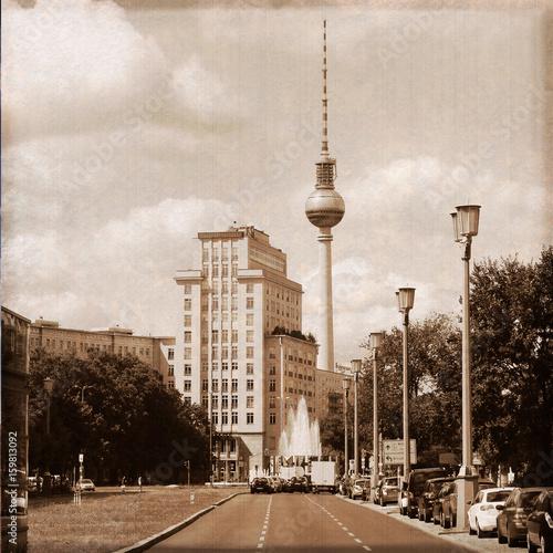 Berlin / Karl Marx Allee (Fernsehturm)
