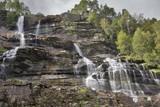 Tvindefossen Norwegen Wasserfall