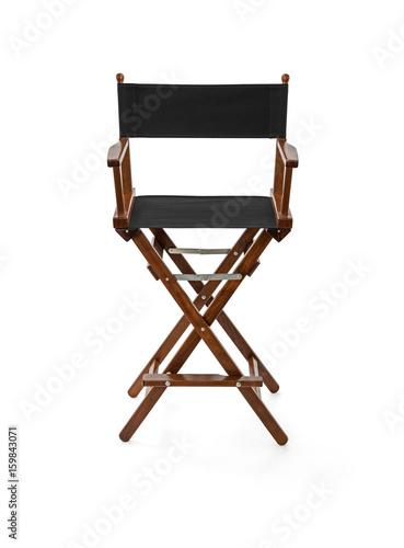 Poster Director chair, Clipping Path included