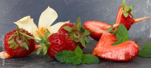 erdbeeren am spieß