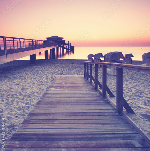 Timmendorfer Strand am Morgen