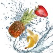 Fruit and water - 159886484
