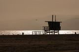 torretta baywatch tramonto