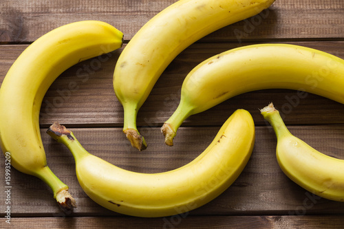 Bananas of the table