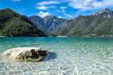 Bergsee Lago di Ledro, Italien, Trient