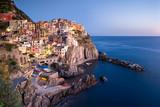 Das Dorf Manarola beim Cinque Terre in La Spezia, Ligurien, Italien