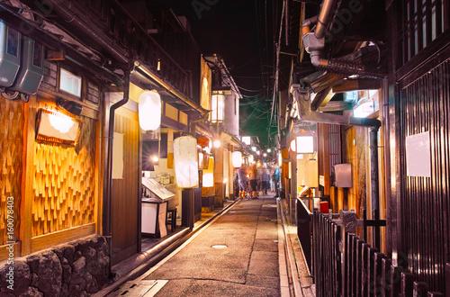 Papiers peints Kyoto 京都 夜の先斗町