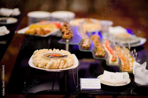cocktail food catering dessert wedding