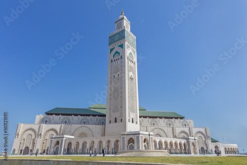 Mosque of Hasan II in Casablanca, Morocco Poster