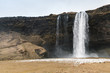Landscape of Seljalandfoss waterfall - 160124037