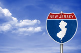 New Jersey road sign map - 160183833