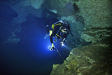 Cave Diving in Hole in the Wall Spring, Merrit's Millpond, Jackson County, Florida - 160201404