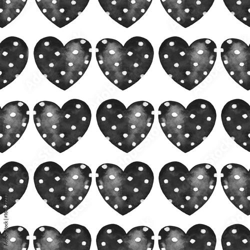 Hearts. Seamless pattern 1 - 160229239