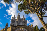 Expiatory Church of the Sacred Heart on the Tibidabo, Barcelona,