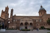View over the Cathedral in Palermo