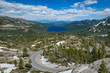 View of Donner Pass Lake from Donner Summit Bridge