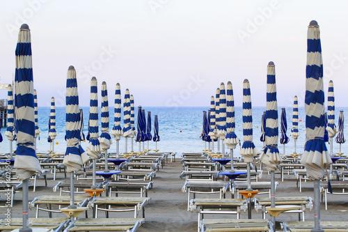 ligurian beach of Laigueglia Poster