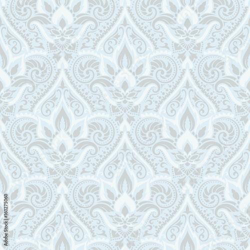 Vector damask seamless pattern - 160275060