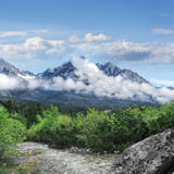 Tatra mountains landscape.