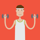 Fitnesman Character