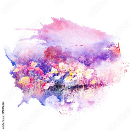 akwarela-ilustracja-kwiat