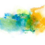 Abstract watercolor splash background. - 160446632