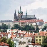 Beautiful castle in Prague, Czech republic