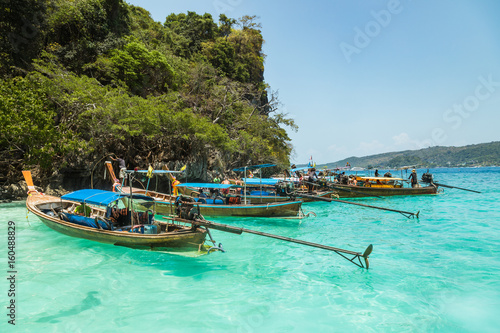 Thailand, Boats Poster