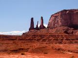 Three Sisters Monument Valley, Utah/Arizona, USA