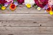 Garden peony flowers - 160587805
