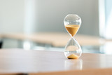Sand clock, business time management concept - 160668449