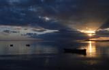 Tramonto a porto botte , Sulcis Iglesiente Sardegna