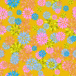 Seamless floral pattern. Vector - 160763877