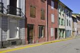 Ruelle colorée de les Cabannes, Ariège