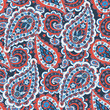 paisley seamless pattern. asian style vector background - 160815485