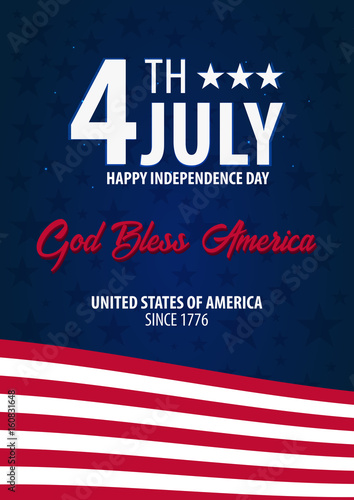 American independence day god bless america 4th july template american independence day god bless america 4th july template background for greeting cards m4hsunfo