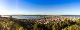 Panoramique depuis le Mont Saint Clair à Sète, Occitanie, France