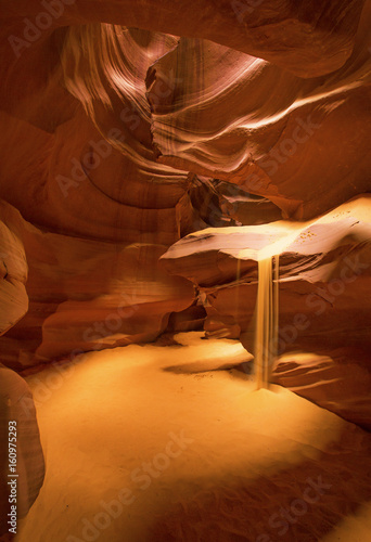 Foto op Canvas Rood paars Inside Antelope Canyon , Page, Arizona