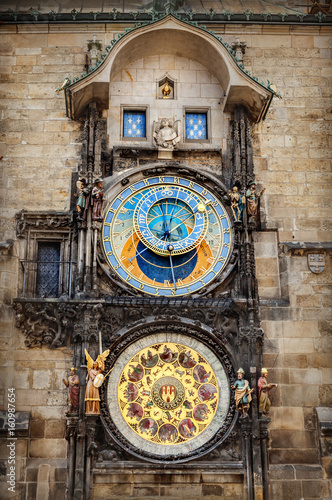 Poster Prague astronomical clock