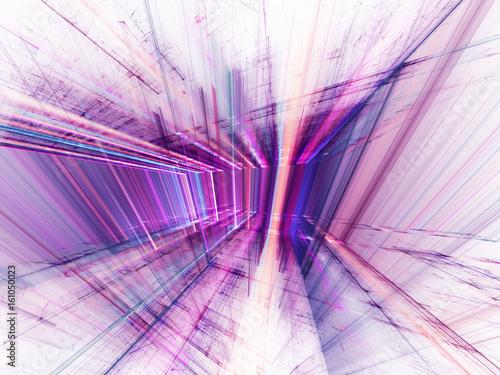 fioletowa-abstrakcja-3d