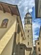 campanile della chiesa di Cogne in Valle d'Aosta