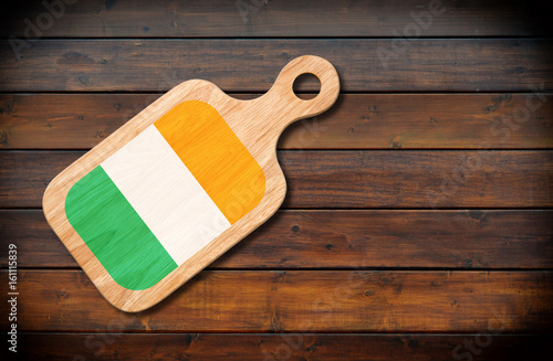 Concept of Irish cuisine Poster