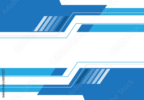 Abstract blue white technology design modern futuristic background vector illustration.