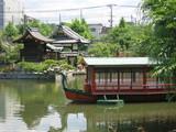 京都 神泉苑の御池(法成就池)