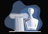Cycladic Figurines - 161196237