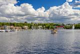 Lappeenranta, Finland - Saimaa lake in the center of the Lappeenranta