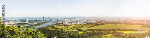 Panoramic view of Vienna, Austria from Kahlenberg - 161238800